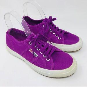 Superga Violet Purple Sneakers Shoes 39.5